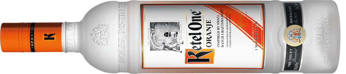 Ketel One Oranje Bottle Horizontal