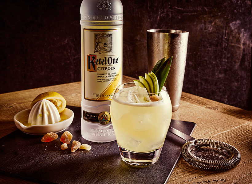 Ketel One Citron Ginger Smash