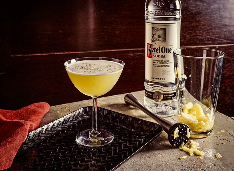 Ketel One Dutch Gimlet