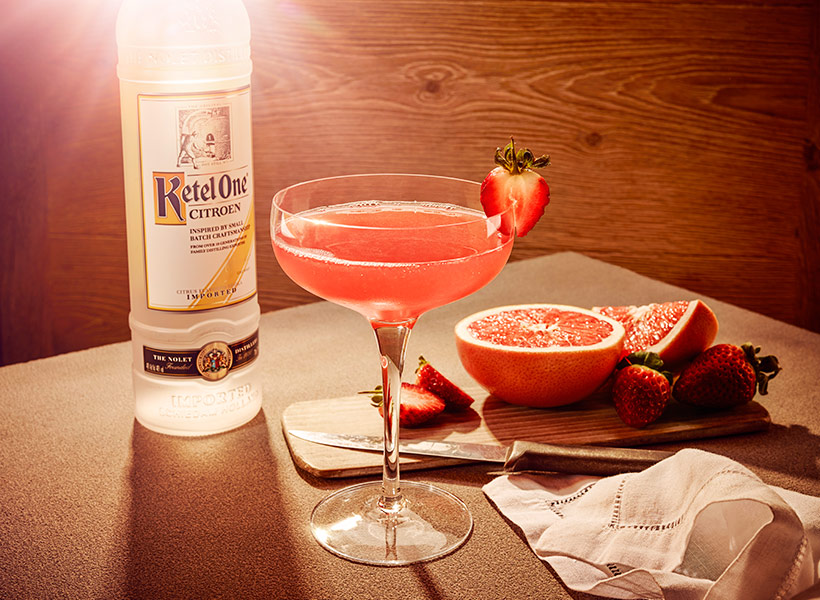 Ketel One Citroen Berry Linger