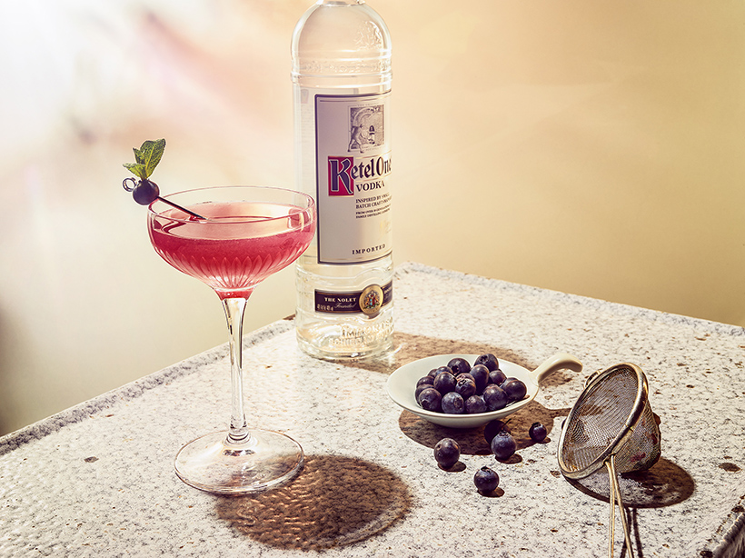 Ketel One Blueberry Cosmo