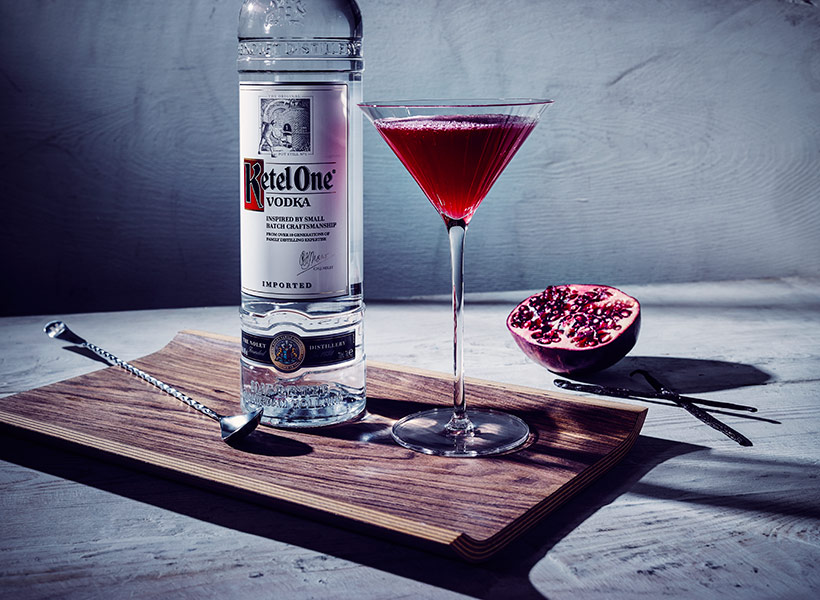 Ketel One Pear Pommegranate