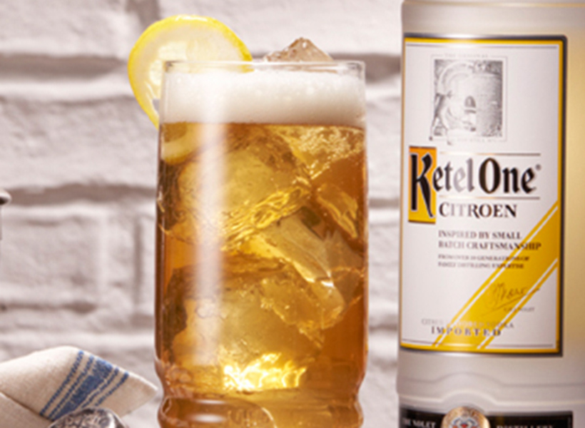 Ketel One Citroen Beertail