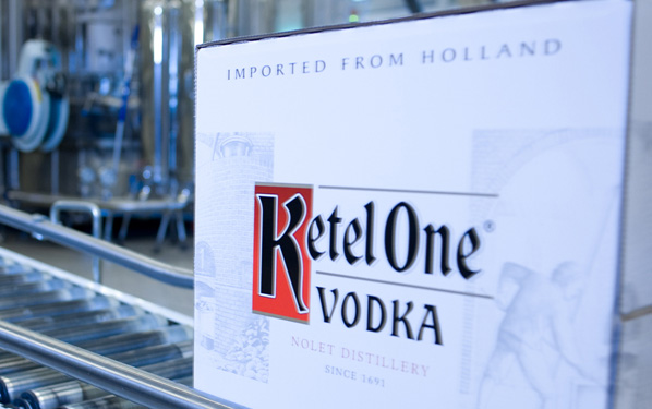 2002 - A case of Ketel One Vodka