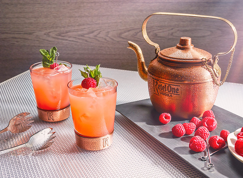 Ketel One Spring Garden Copper Kettle