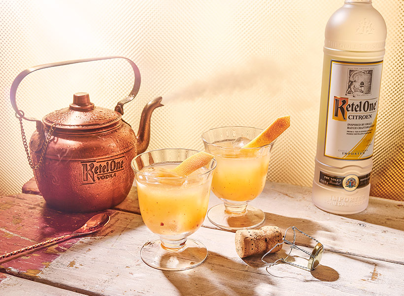 Ketel One Honey Pot