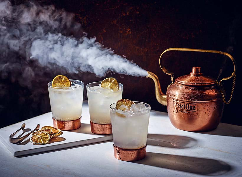 Ketel One Dutch Mule Copper Kettle