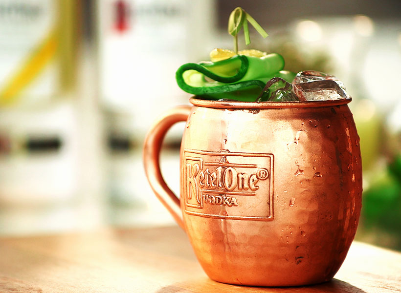 Cuber Moscow Mule Recipe Ketel One