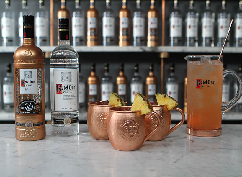 Ketel One 325 Mule Group Serve