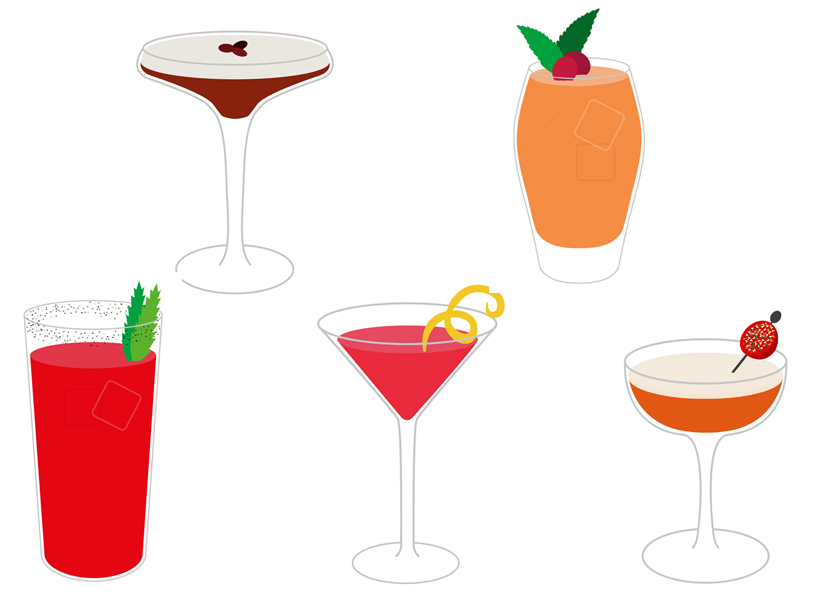 Cocktail Illustrations 820x 600 Copy