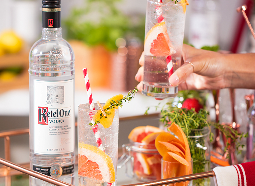 Ketel One Grapefruit Soda