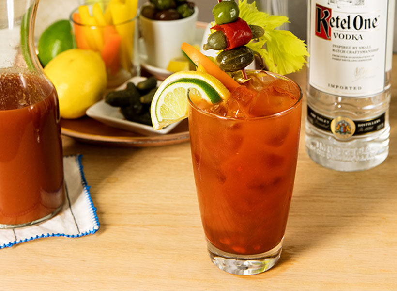 Bloody Mary Cocktail Recipe | Vodka Drinks | Ketel One Vodka